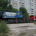Перевозка  самоходного крана ДЭК-321 массой 40 т